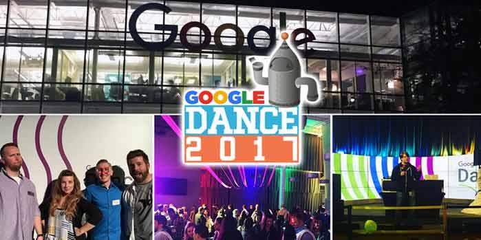 رقص گوگل (Google dance)